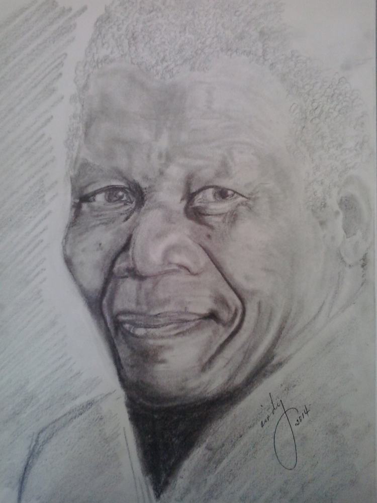 Mandela (pencil sketch)